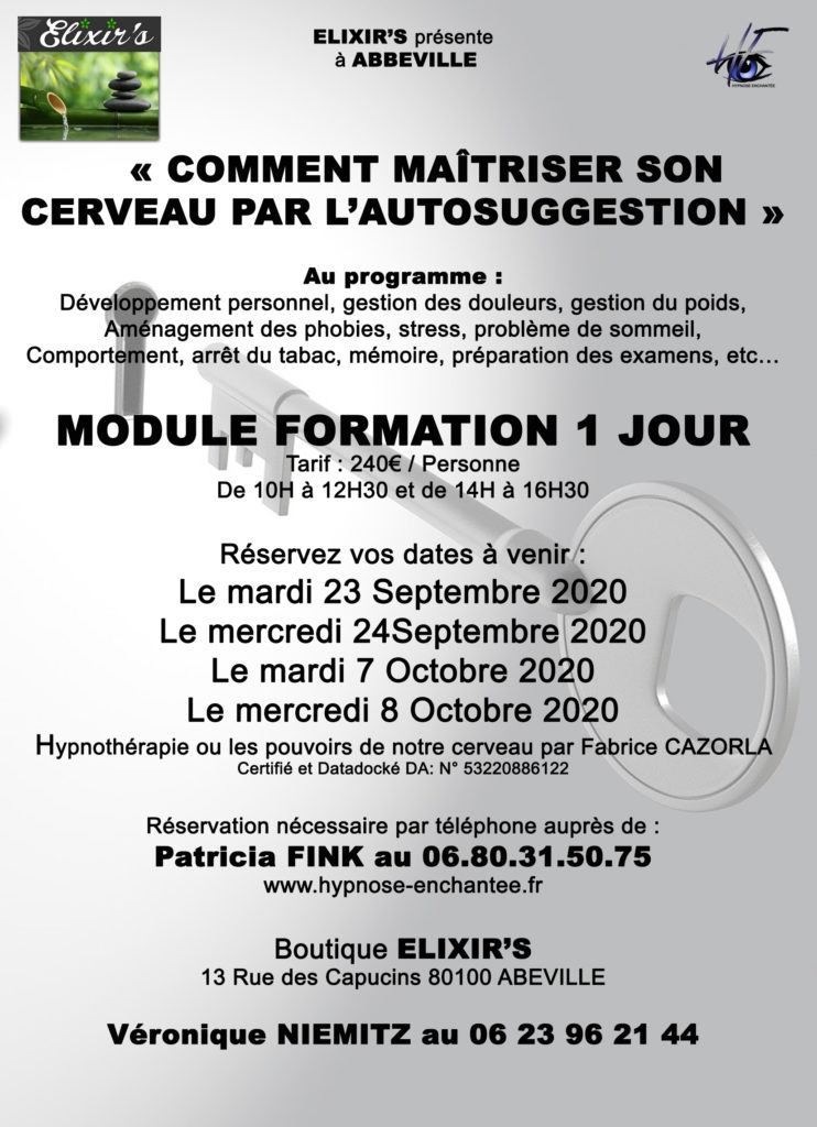 Formation hypnose abbeville