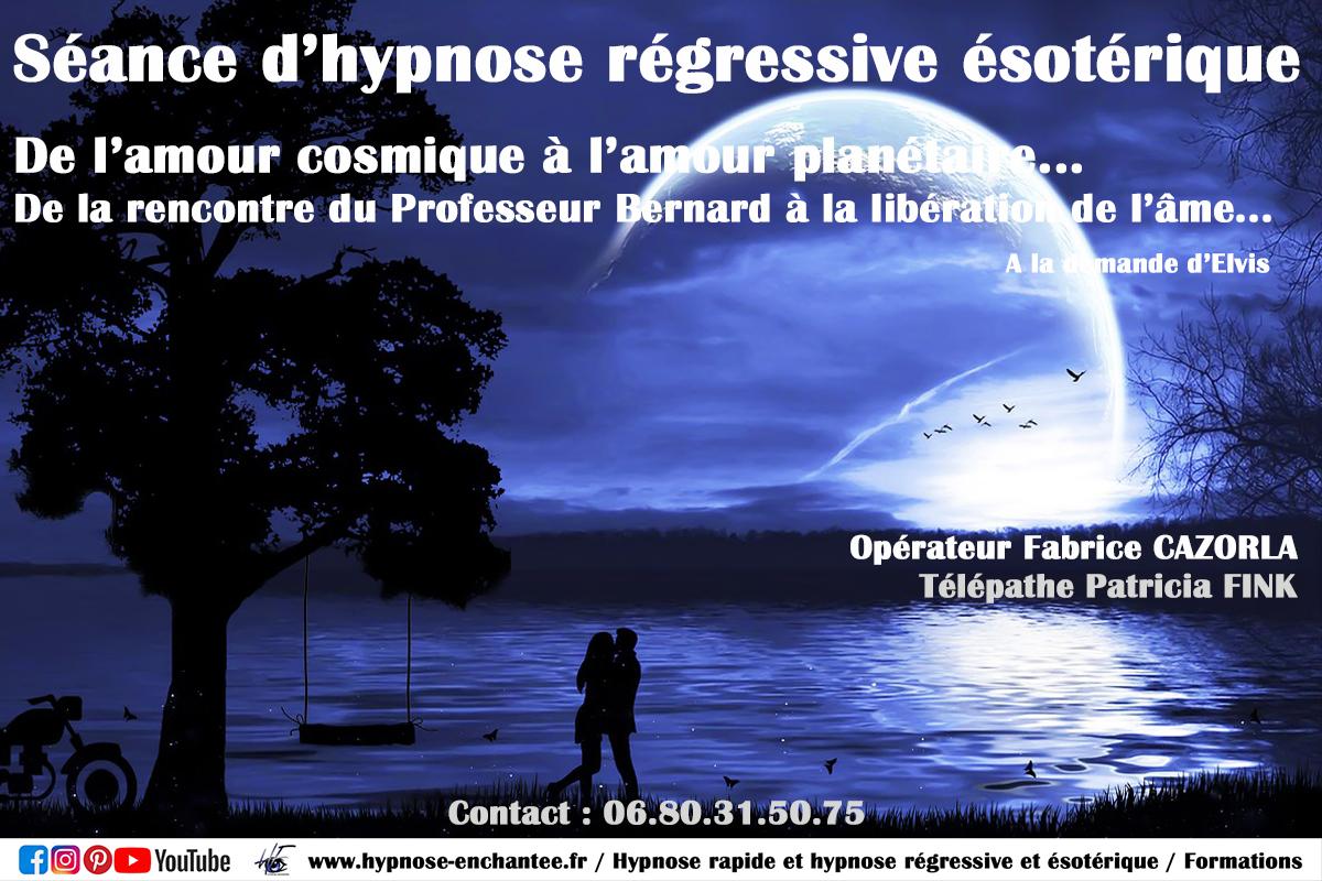 De l'amour cosmique à l'amour planétaire - Hypnose régressive fabrice cazorla edition 008