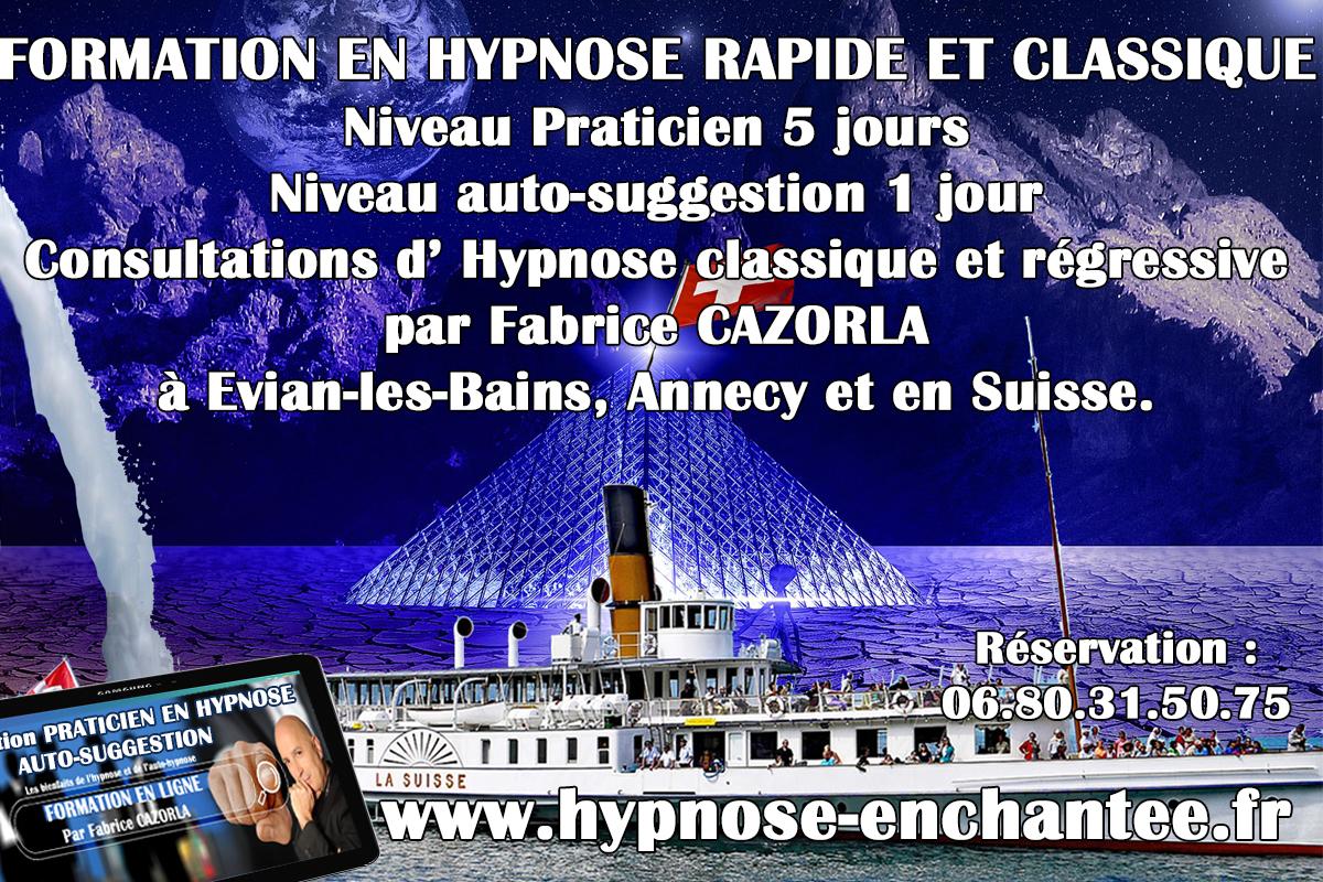 hypnose classique ou régressive à Annecy, évian-les-bains et en Suisse